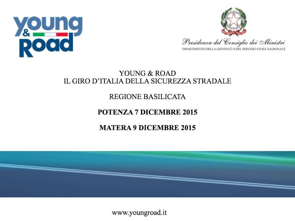 Approda anche a Potenza e Matera l'esibizione del progetto Young&Road