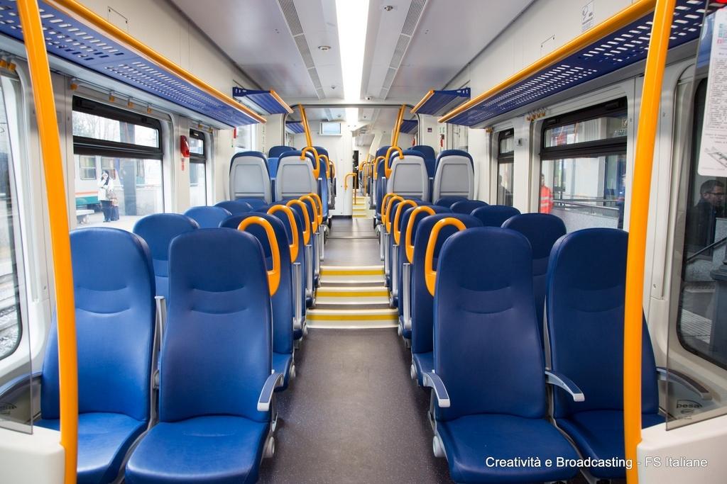 Viaggio inaugurale per Swing, il nuovo treno diesel dedicato ai pendolari